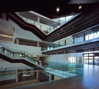 Colston Hall - AB Glass - Glass Balustrading