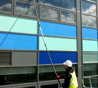 Glass, glazing, maintenance and repair