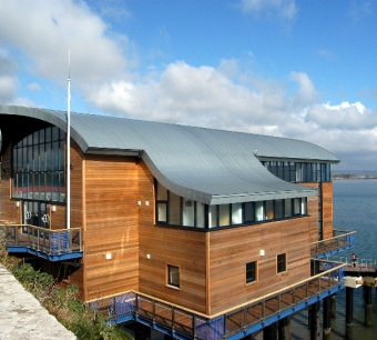 RNLI - Tenby Lifeboat Station - AB Glass - Aluminium Window