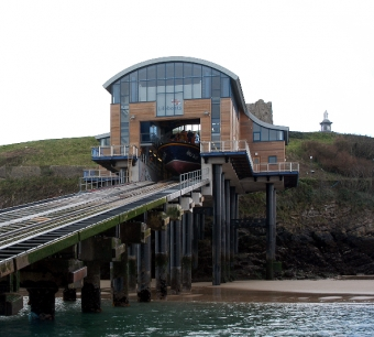 RNLI - Tenby Lifeboat Station - AB Glass - Overview of Aluminium Curtain Walling