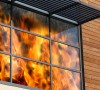 Aluminium and steel fire and blast enhanced systems