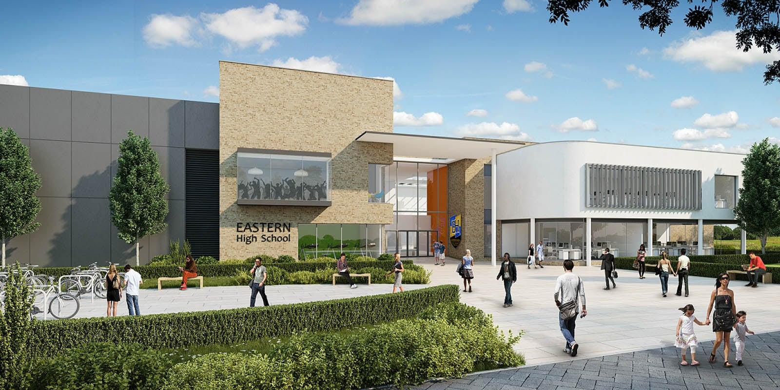 Eastern High School Cardiff - Powell Dobson Architects