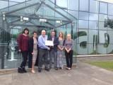 AB Glass receives Chwarae Teg Exemplar Employer Award