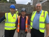 AB Glass shows support for DIY SOS in Swansea