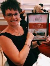 Sharron Newton at the Women in Business Awards 2017